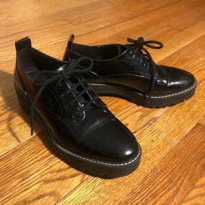 Zara black shoes